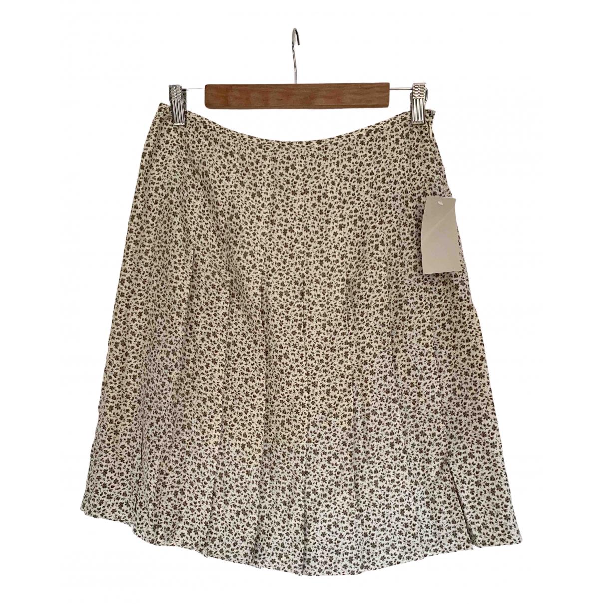 Calvin Klein N Beige Silk skirt for Women 4 US