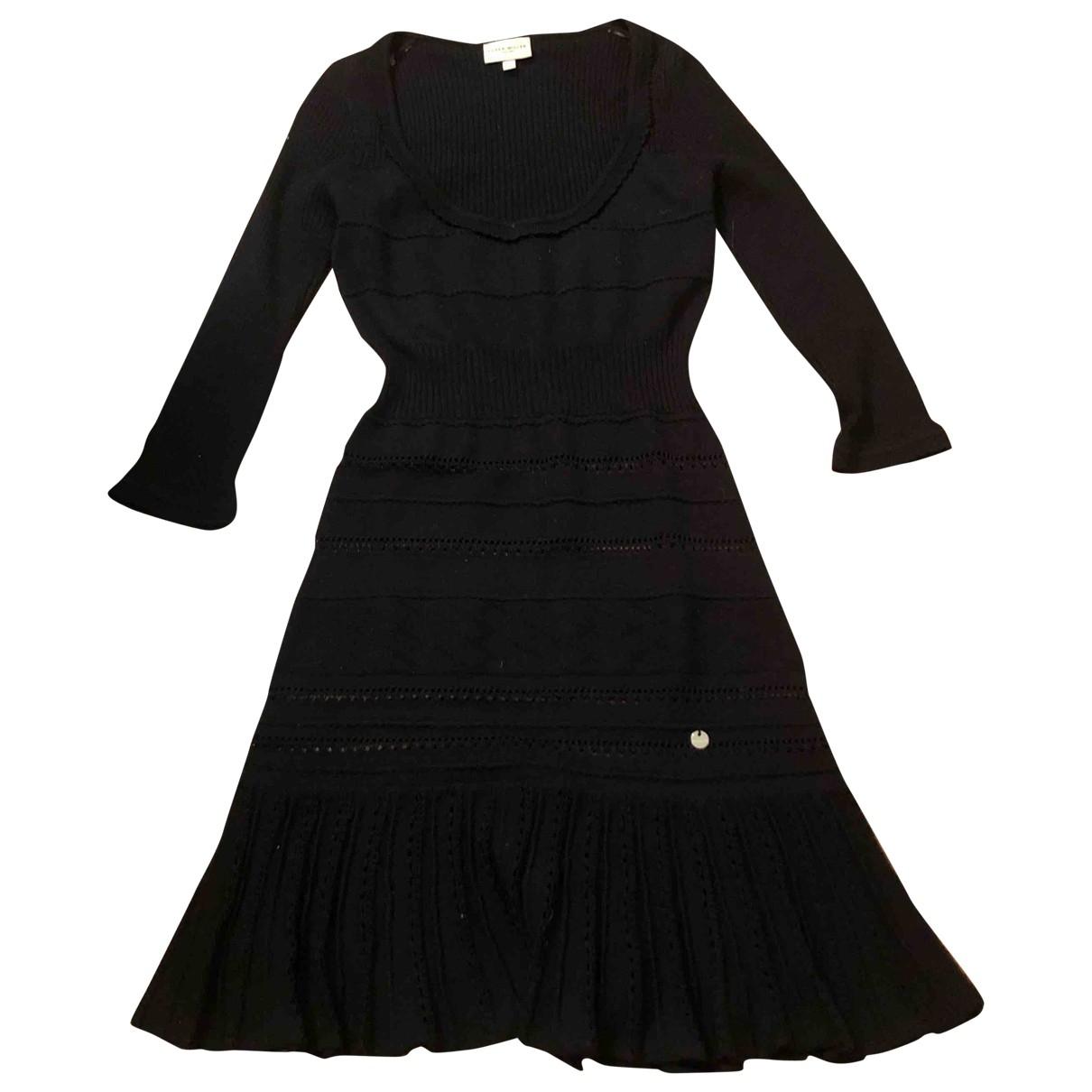 Karen Millen \N Black Wool dress for Women 34 FR