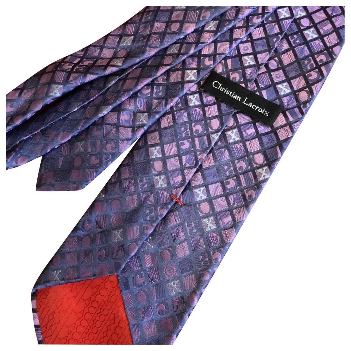Corbata de Seda Christian Lacroix