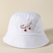 Flame Decor Bucket Hat