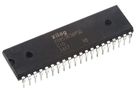 Zilog Z0853606PSG, Peripheral Controller Z-CIO & CIO & Parallel I/O Unit 40-Pin PDIP