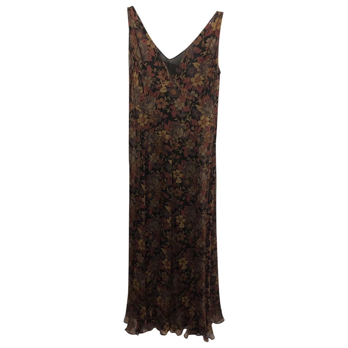Polo Ralph Lauren \N Kleid in  Braun Seide