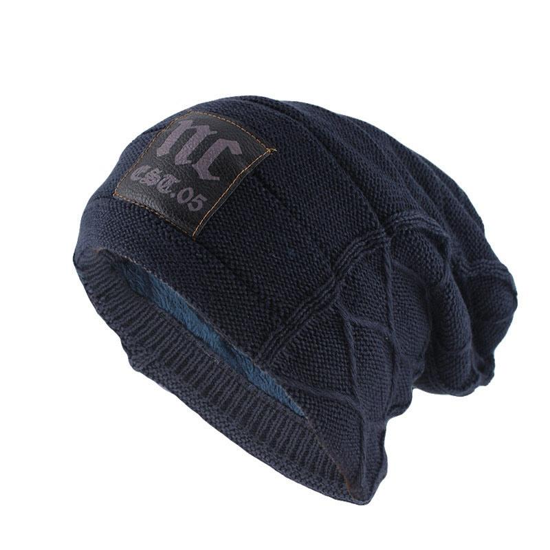 Ericdress Knitted Warm Plain Hat