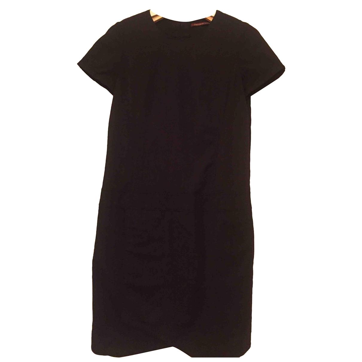 Comptoir Des Cotonniers \N Grey Cotton dress for Women 38 FR