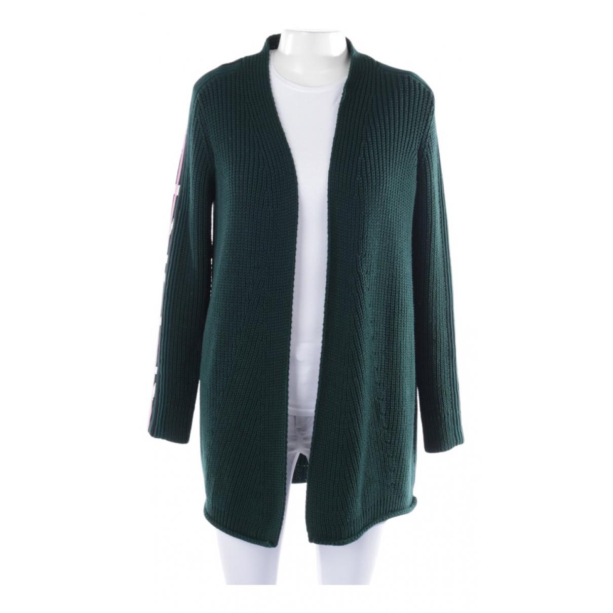 Marc Cain - Pull   pour femme en coton - vert