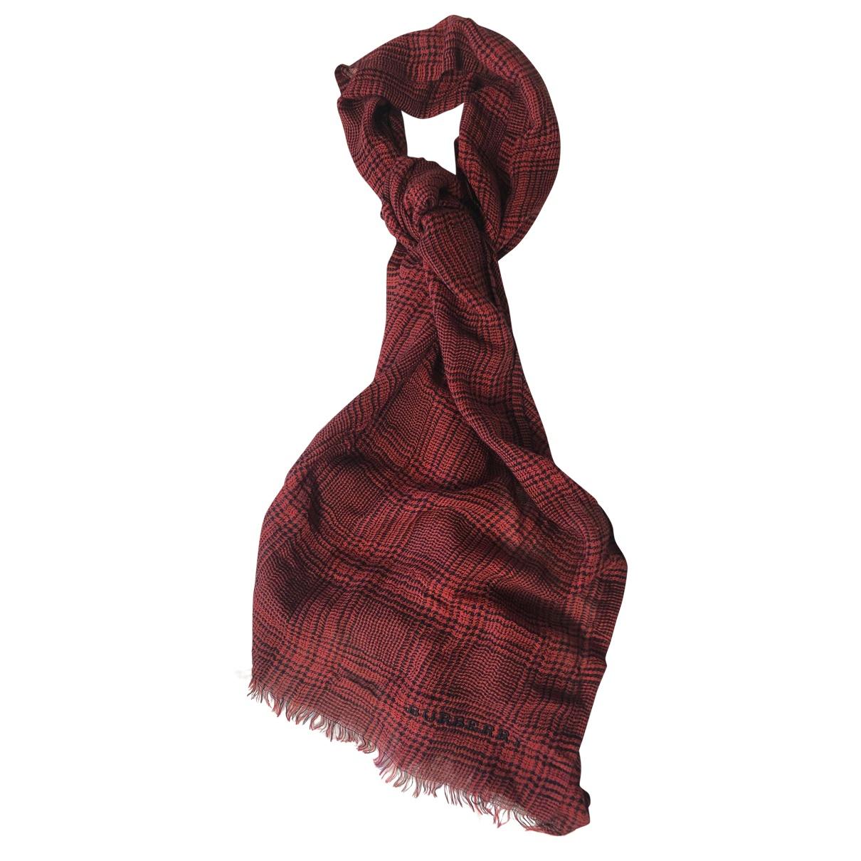 Burberry - Cheches.Echarpes   pour homme en coton - rouge