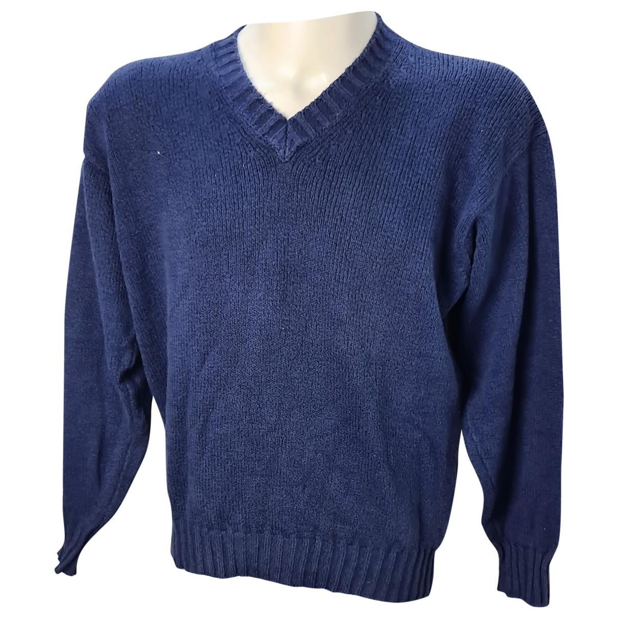 Loro Piana \N Blue Cotton Knitwear & Sweatshirts for Men 50 IT