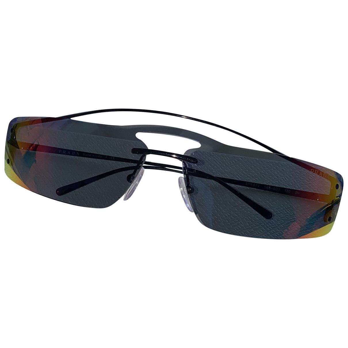 Prada N Metal Sunglasses for Men N