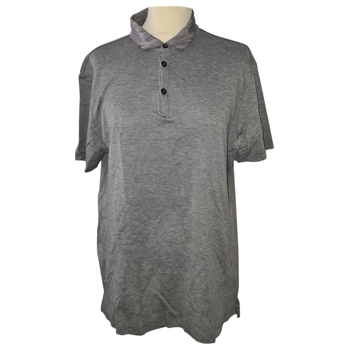 Lanvin \N Grey Cotton Polo shirts for Men L International