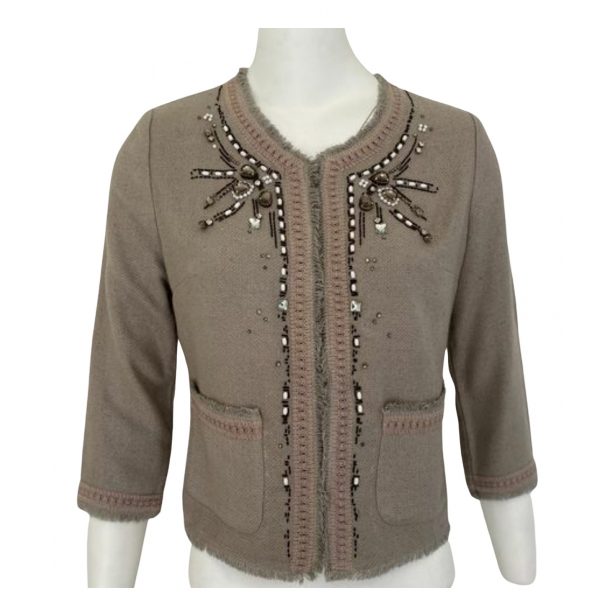 Parosh \N Beige Silk jacket for Women S International