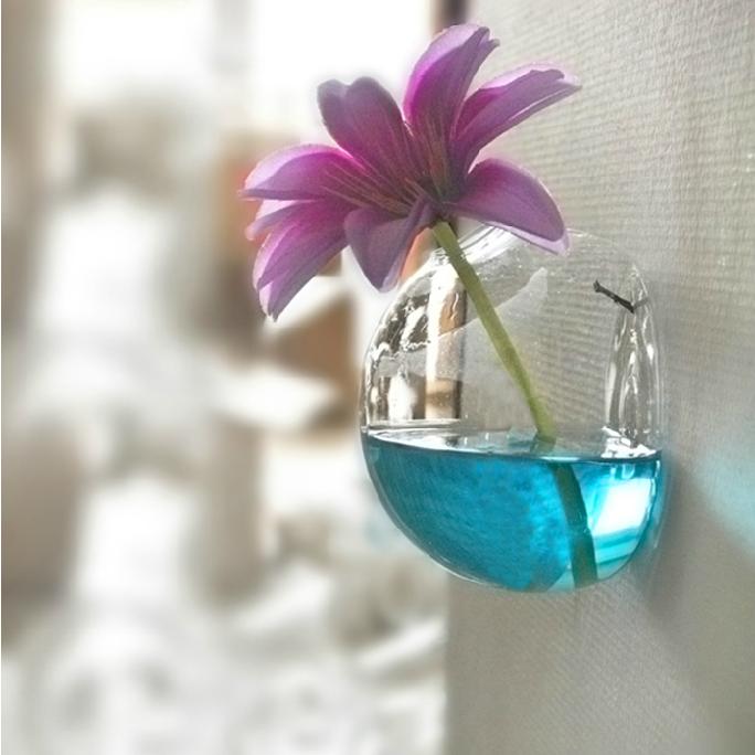 Creative Fashion Hemispherical Suspension Design Green Plant Vase and Terrarium
