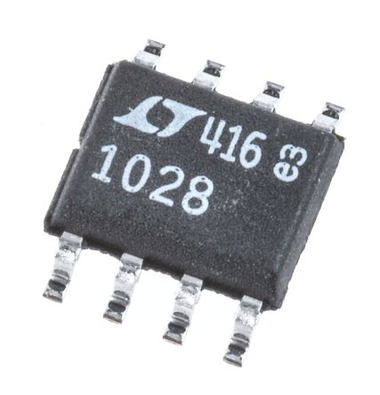 Analog Devices LT1028CS8#PBF , Op Amp, 75MHz, 8-Pin SOIC