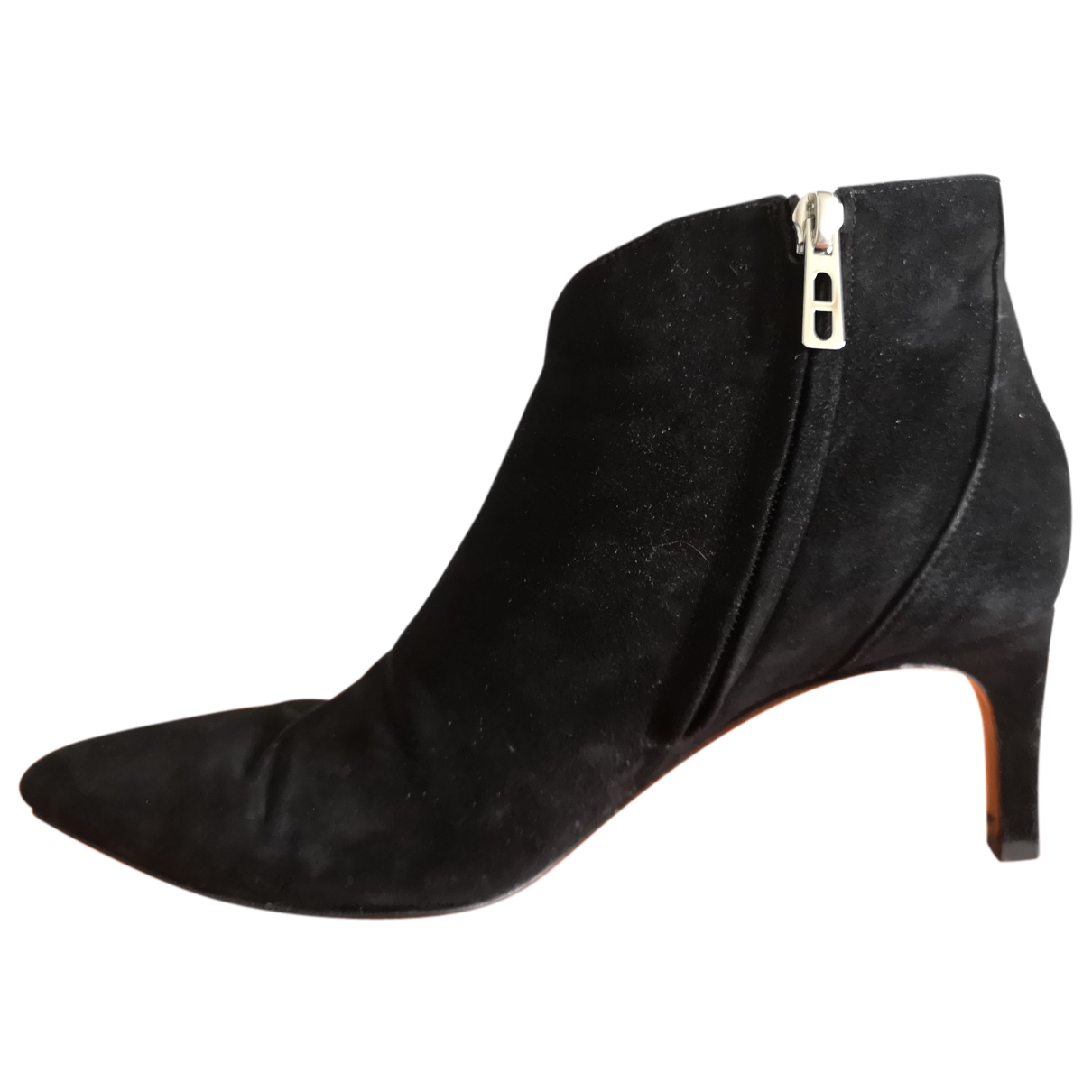 Hermès N Black Suede Ankle boots for Women 37 EU