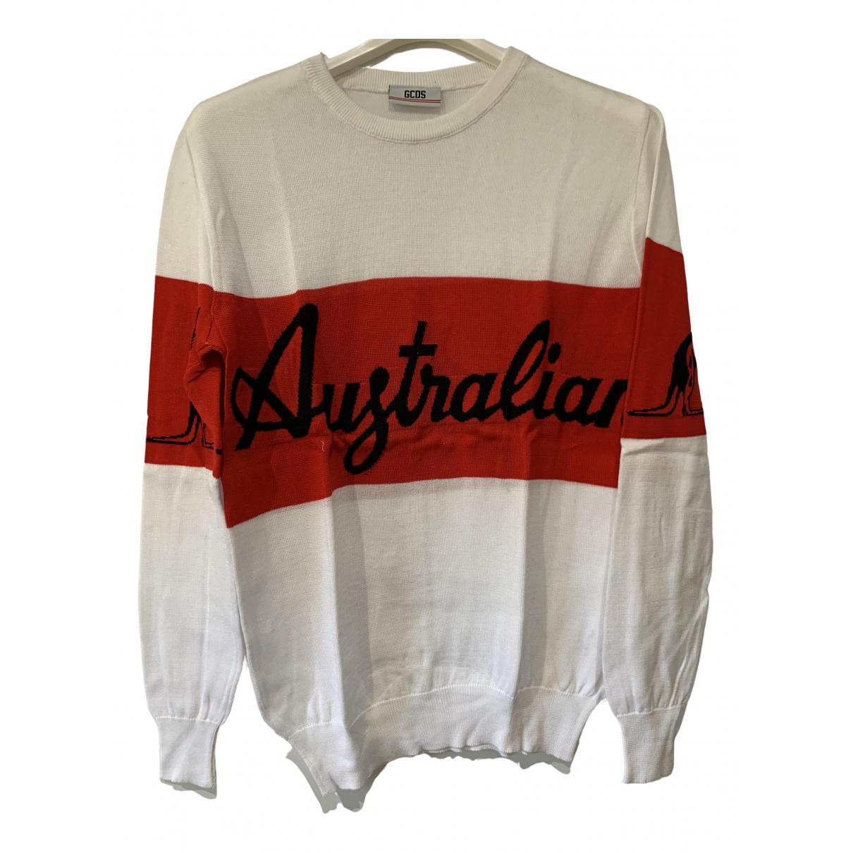 Gcds \N White Cotton Knitwear & Sweatshirts for Men M International