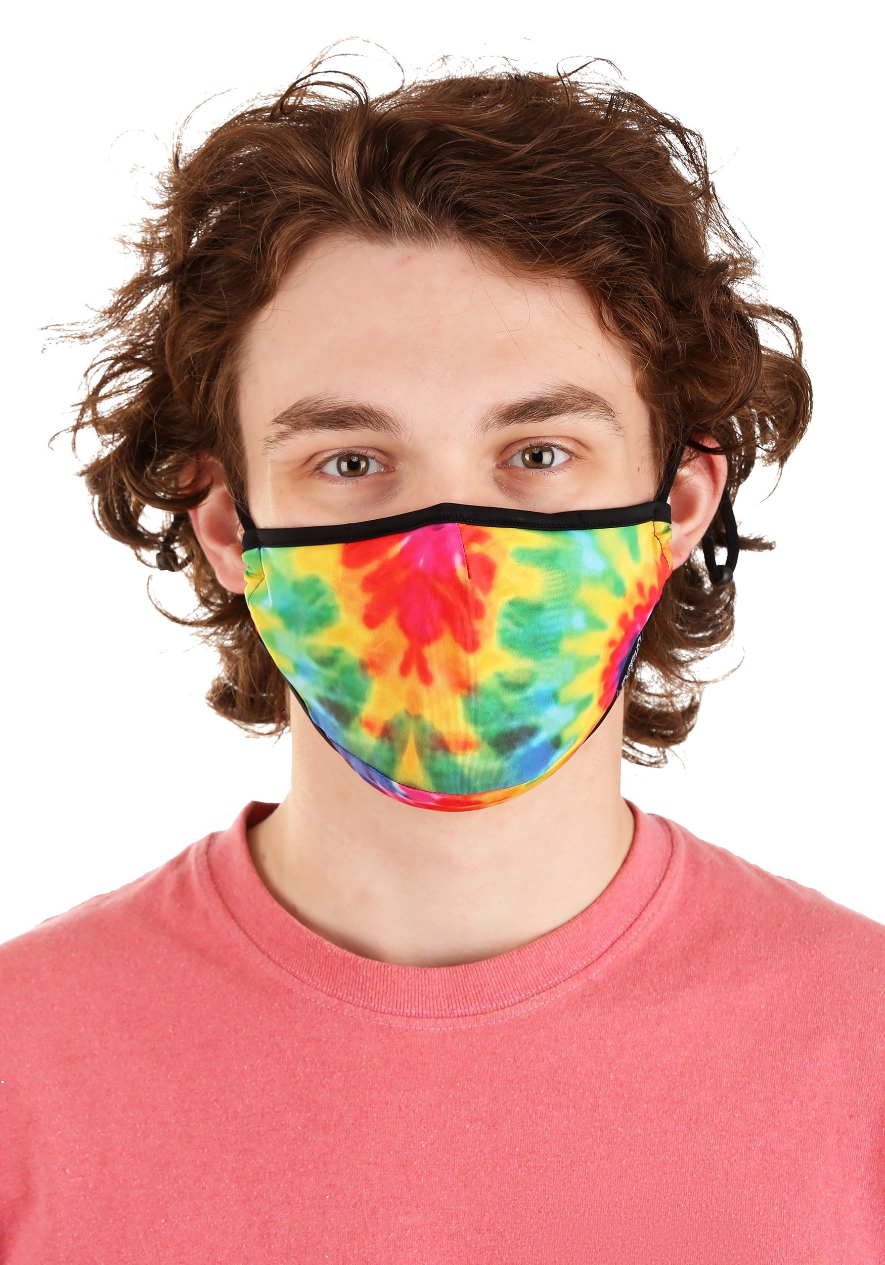 Protective Tie Dye Fabric Face Covering Mask