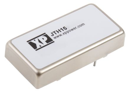 XP Power JTH 15W Isolated DC-DC Converter Through Hole, Voltage in 18 → 72 V dc, Voltage out 12V dc