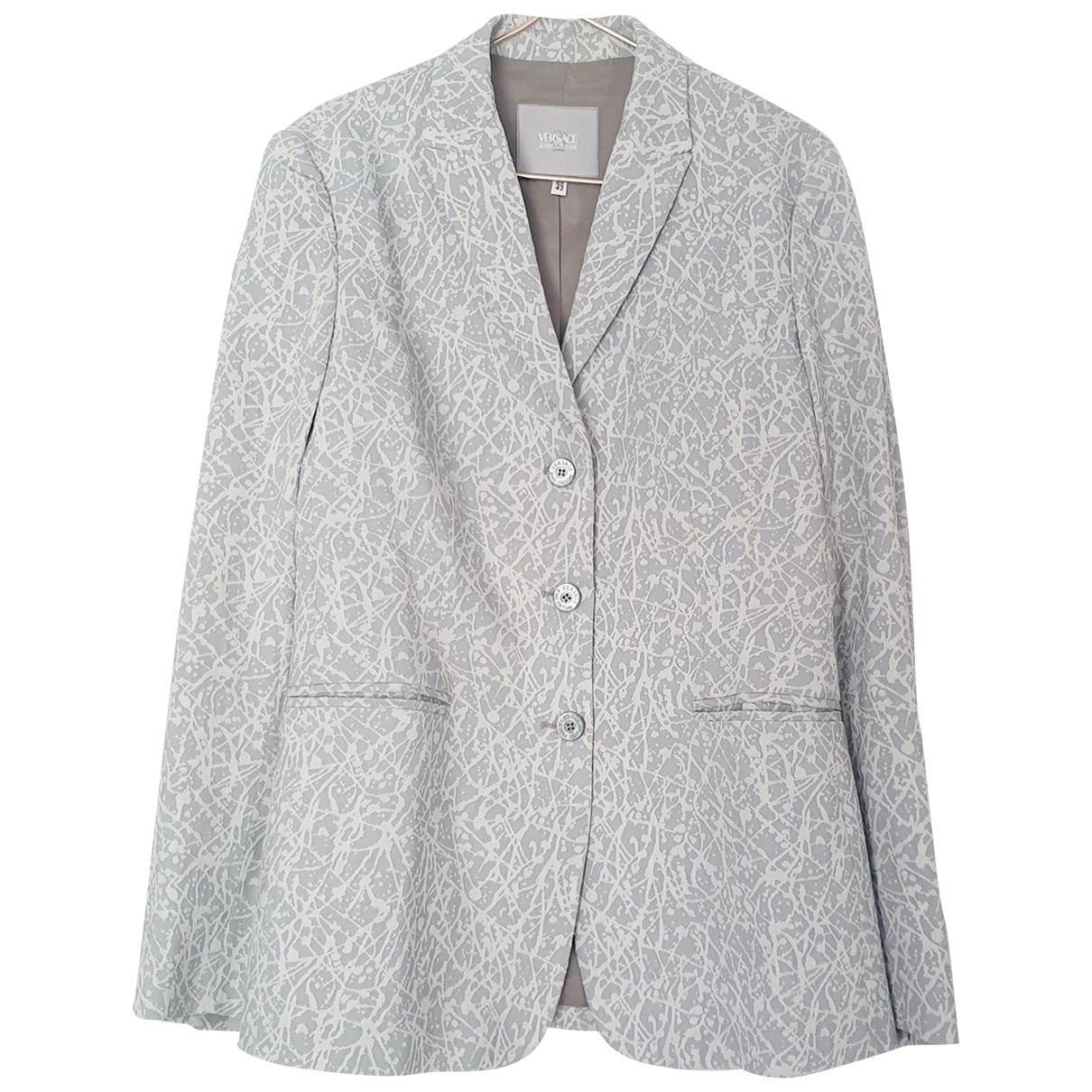 Versace Jean - Veste   pour femme - gris