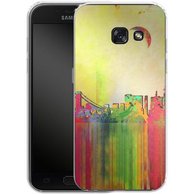 Samsung Galaxy A3 (2017) Silikon Handyhuelle - San Francisco Skyline von Mark Ashkenazi