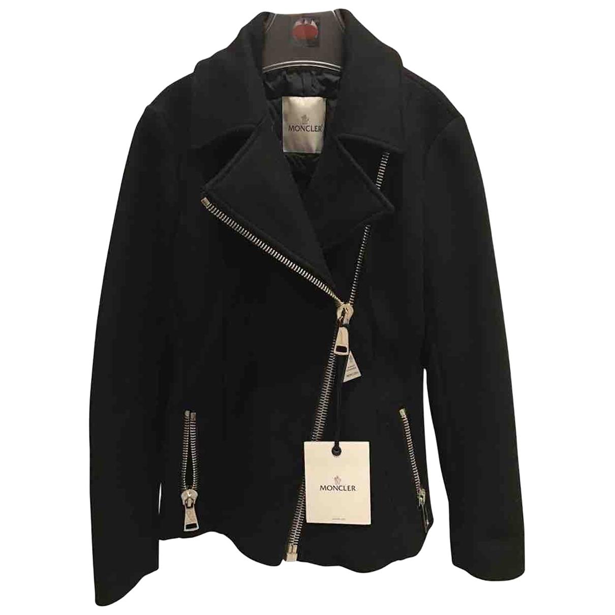 Moncler \N Black Wool jacket for Women 1 0-5