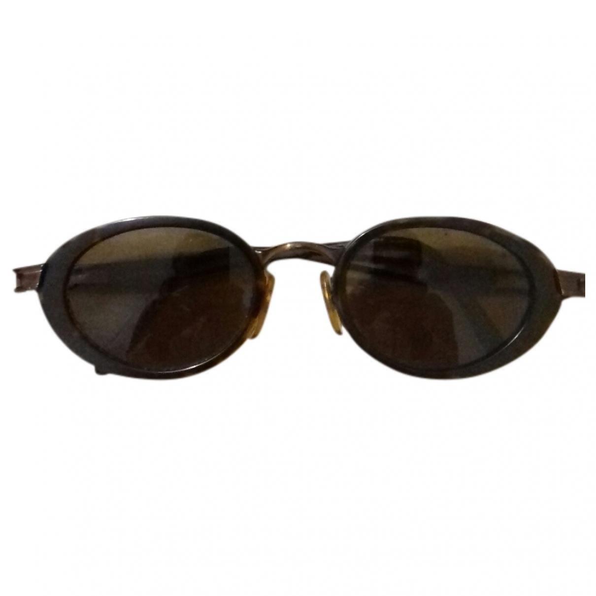 Moschino \N Brown Metal Sunglasses for Women \N