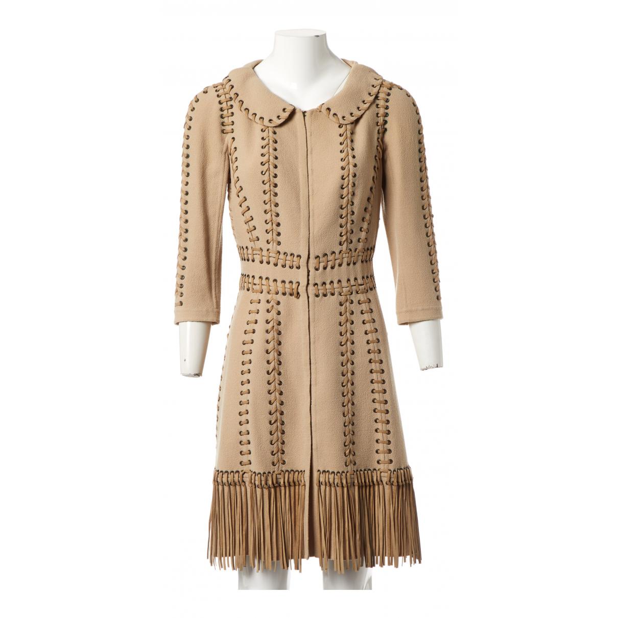 Louis Vuitton N Beige Wool jacket for Women 34 FR