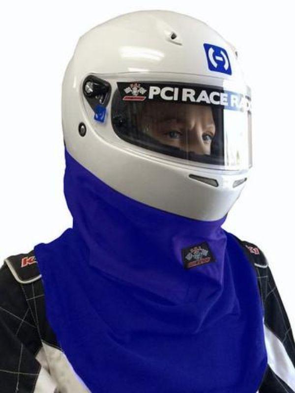 PCI Race Radios PRR694 Single Layer Nomex Helmet Skirt Blue