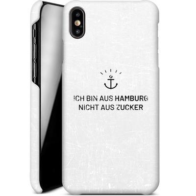 Apple iPhone XS Max Smartphone Huelle - Ich Bin Aus Hamburg von caseable Designs
