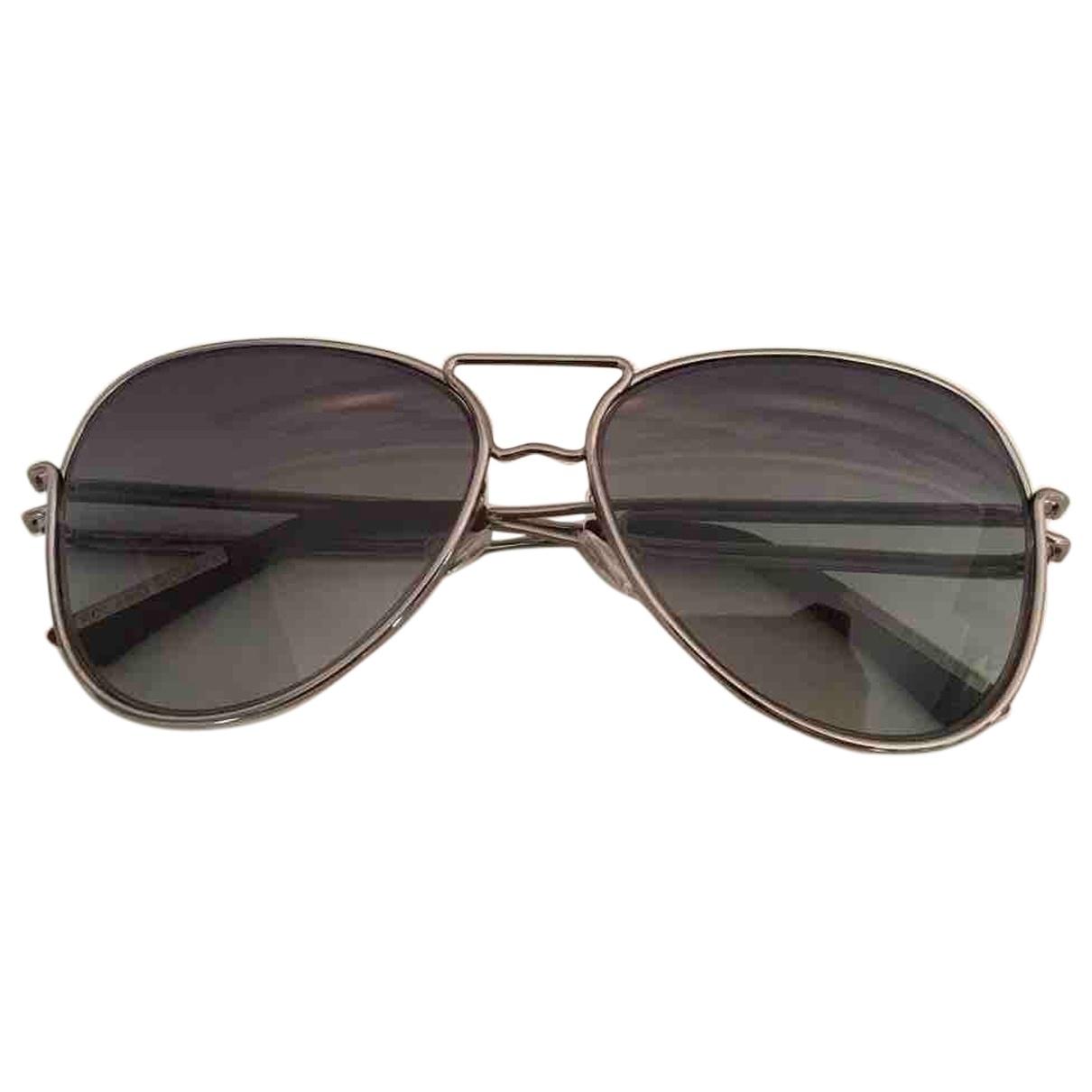 Roland Mouret \N Sonnenbrillen in  Silber Metall