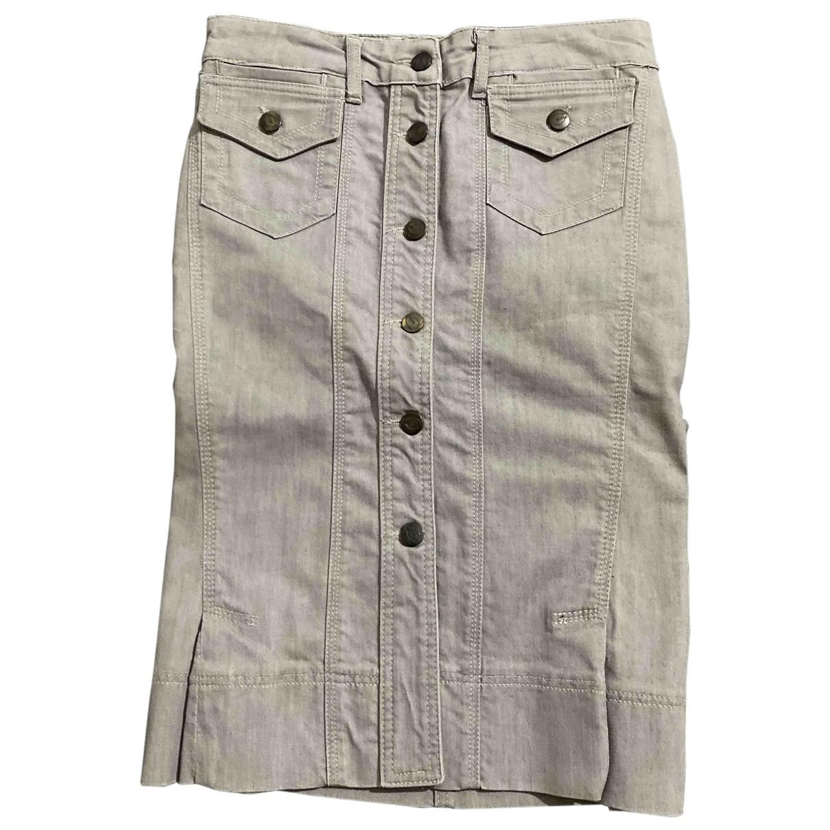Just Cavalli - Jupe   pour femme en coton - gris
