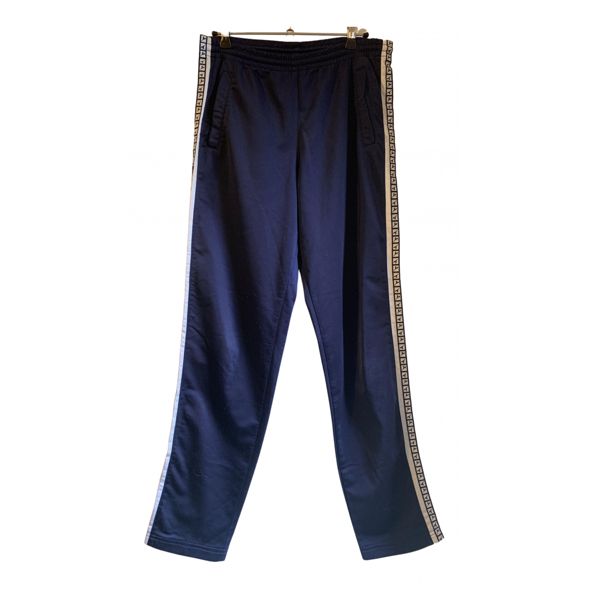 Pantalon en Poliester Azul Diadora