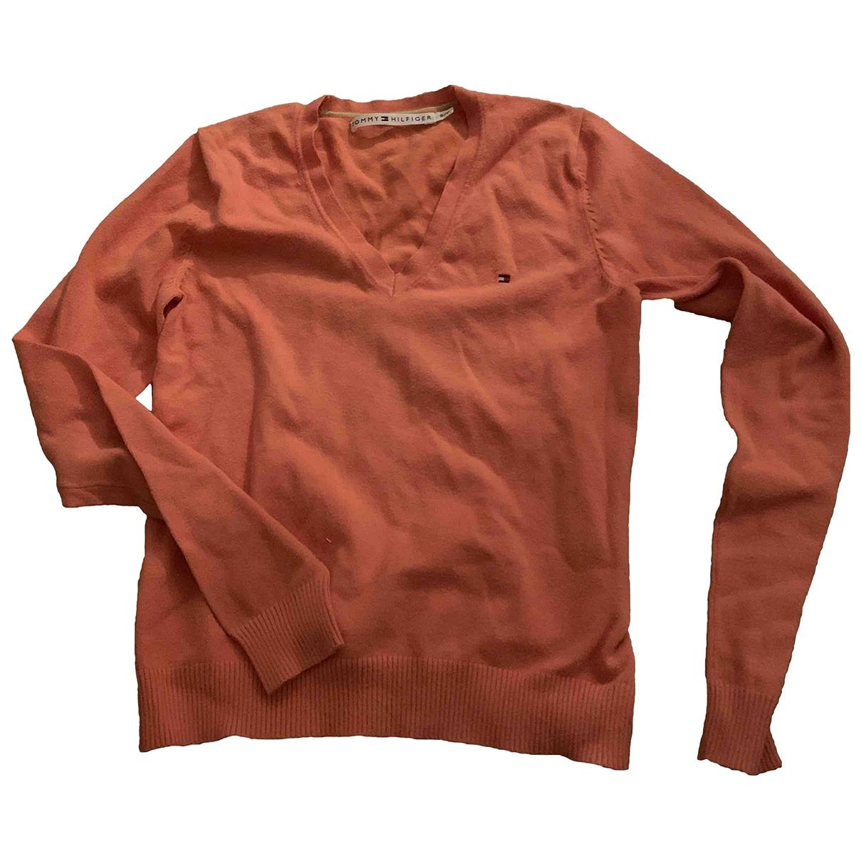 Tommy Hilfiger \N Orange Cotton Knitwear for Women S International