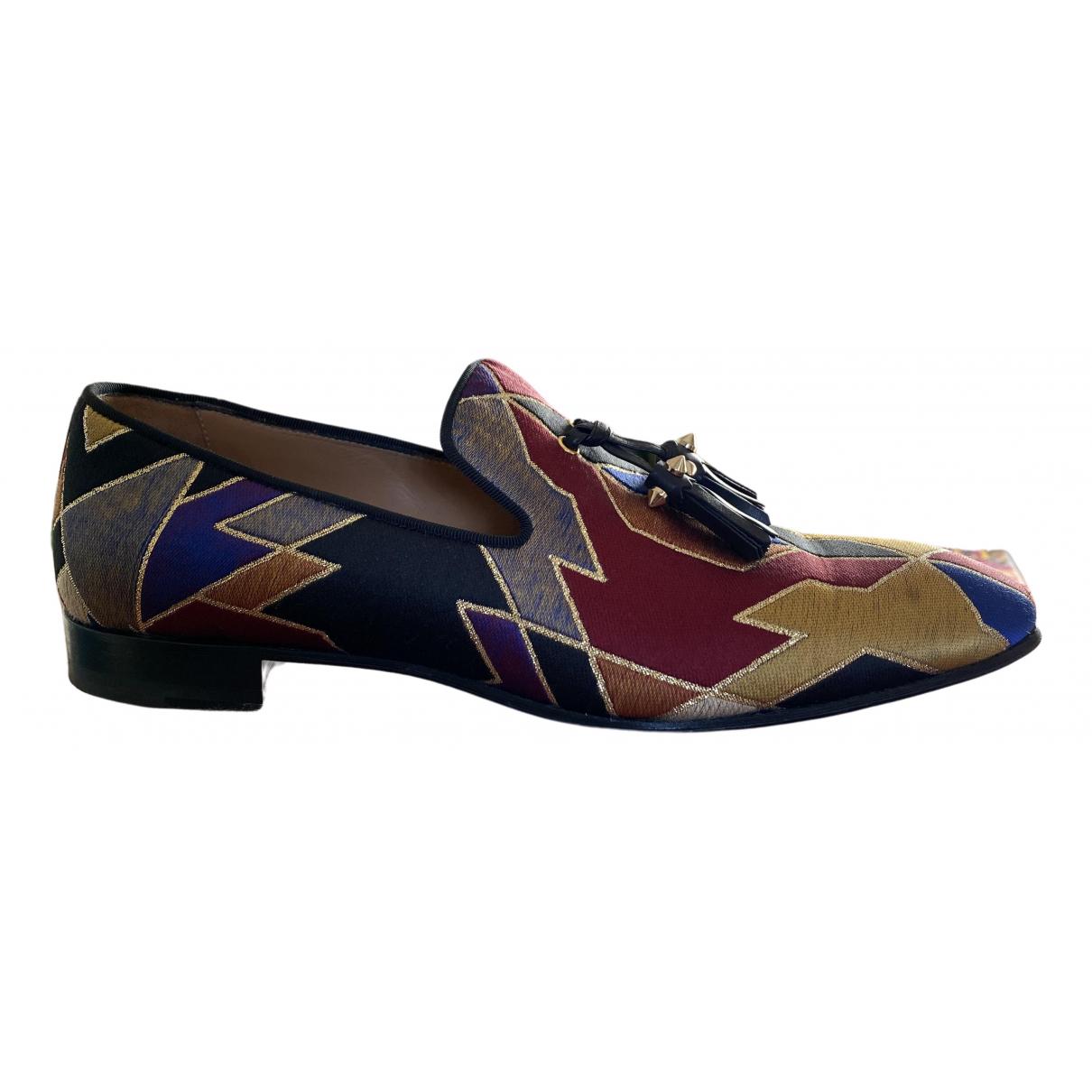 Christian Louboutin \N Multicolour Cloth Flats for Men 40.5 EU