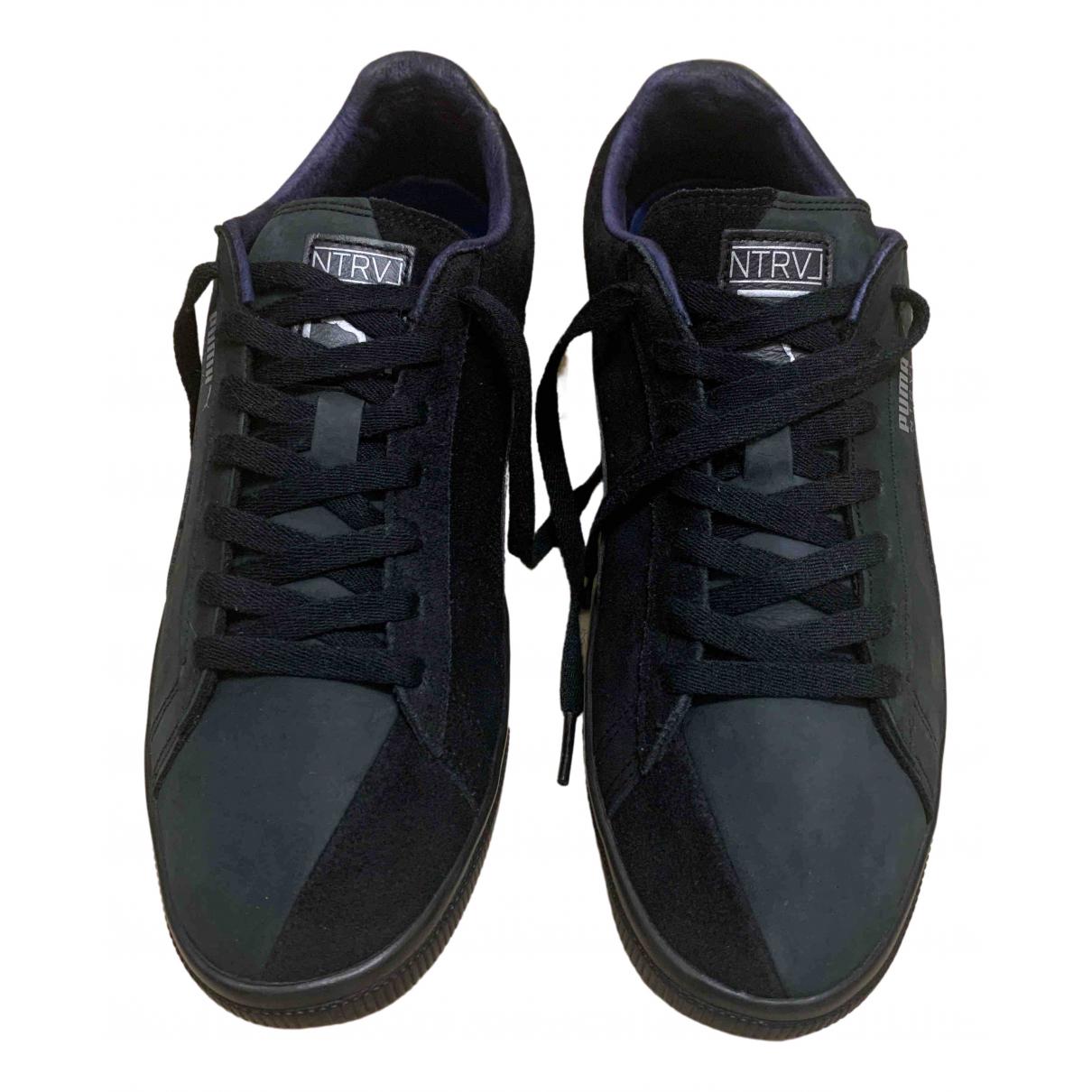 Puma \N Sneakers in  Bunt Veloursleder