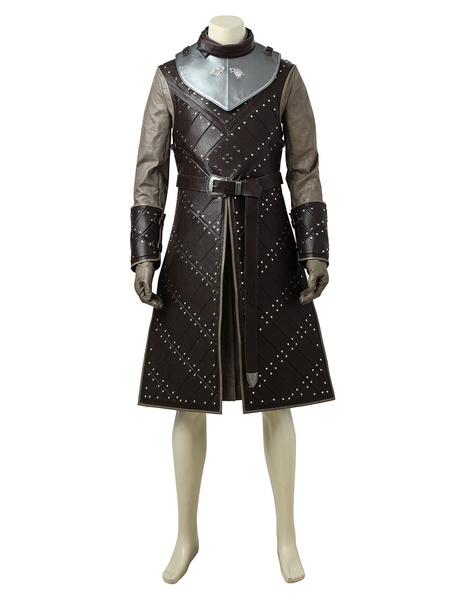 Milanoo Game Of Thrones Season 7 Jon Snow Halloween Cosplay Costume