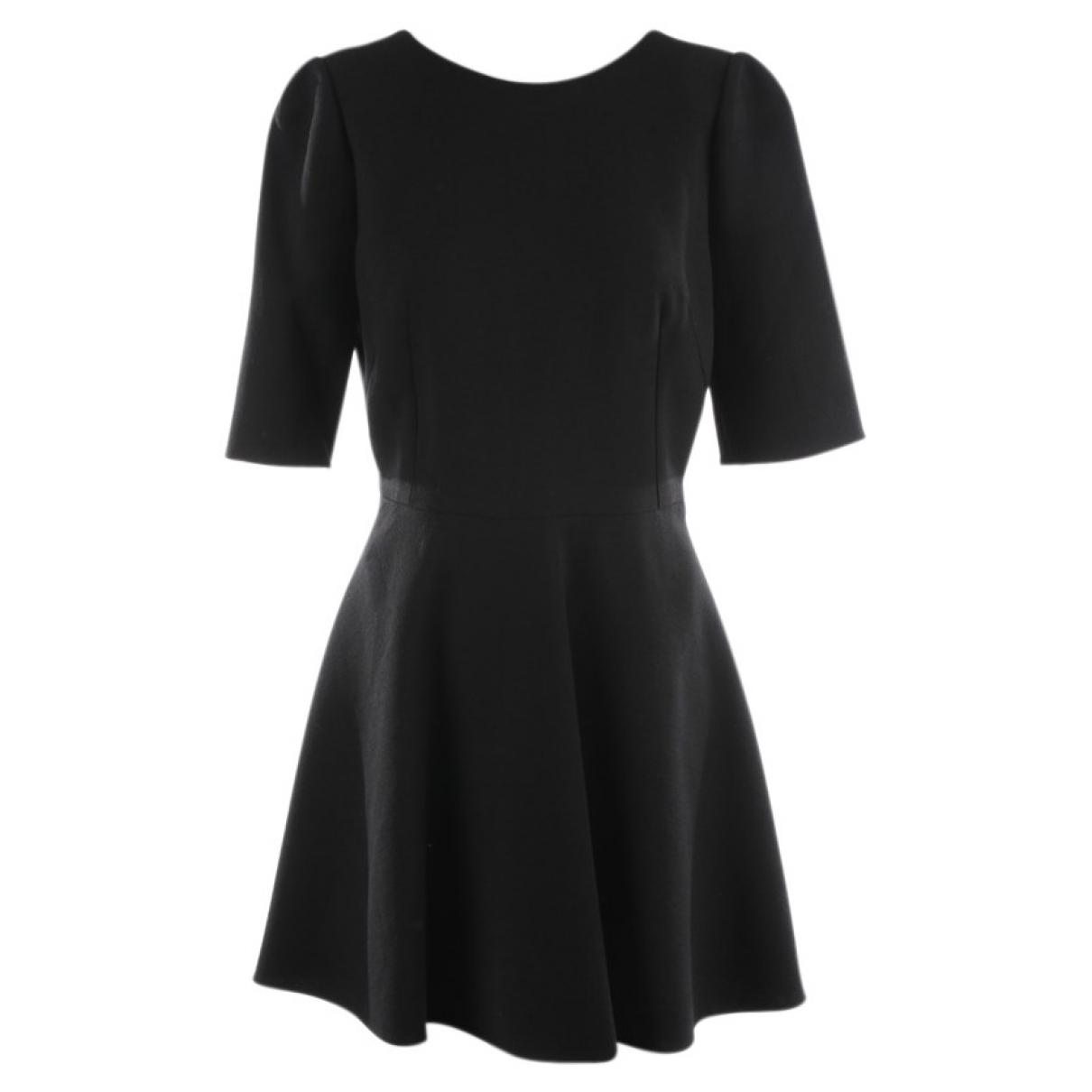 Dolce & Gabbana \N Black Wool dress for Women 36 FR