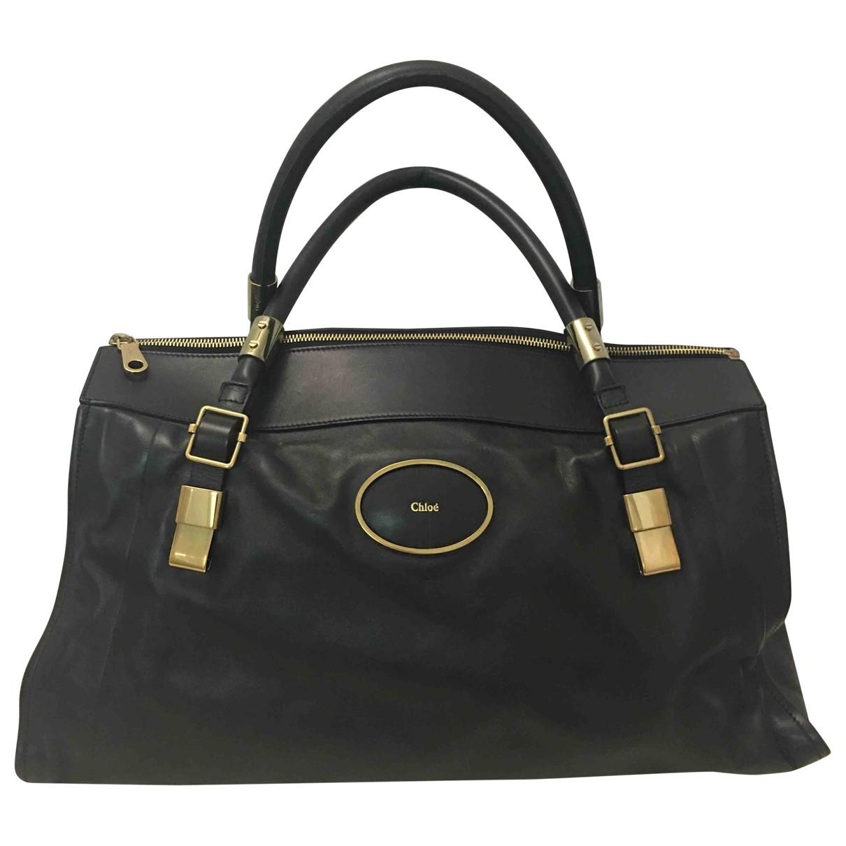 Chloe \N Handtasche in Leder
