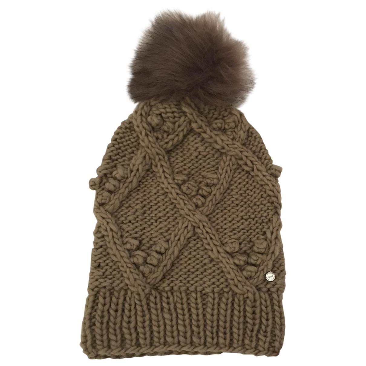 Adolfo Dominguez \N Beige Wool hat for Women 57 cm