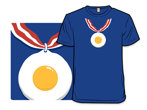 Breakfast Medal T Shirt