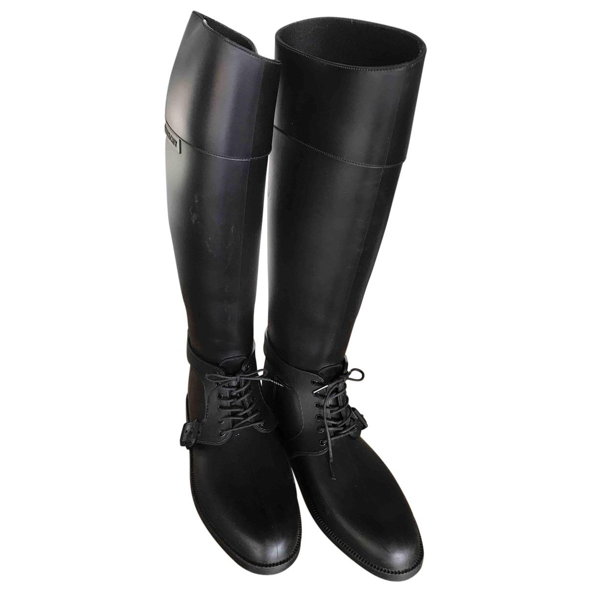 Givenchy \N Black Rubber Boots for Women 40 EU