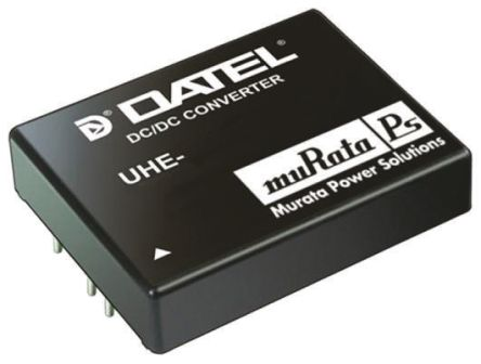 Murata Power Solutions UHE 30W Isolated DC-DC Converter Through Hole, Voltage in 9 → 36 V dc, Voltage out 15V dc