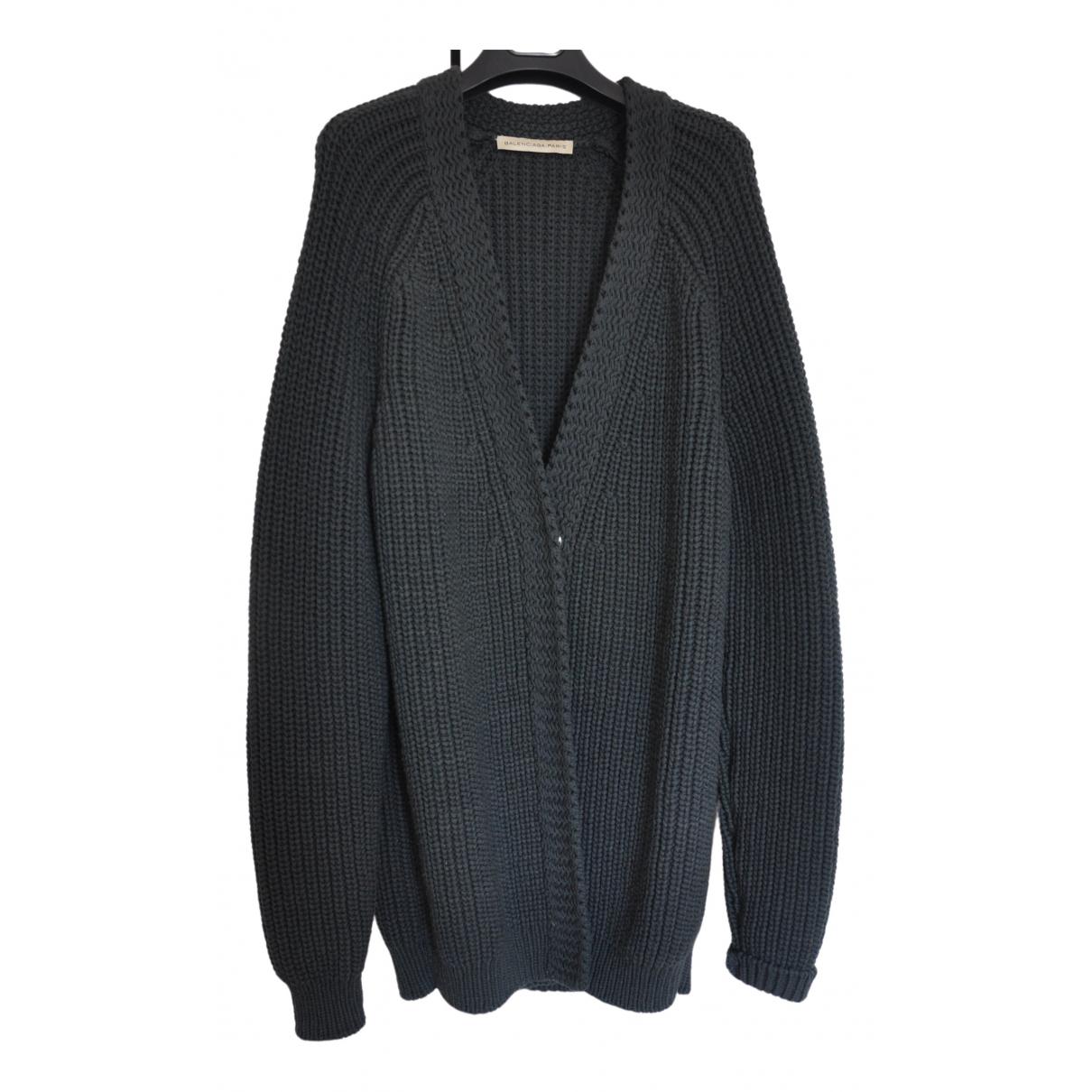 Balenciaga \N Green Wool Knitwear for Women 38 FR