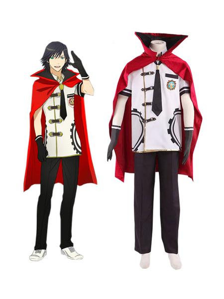 Milanoo Final Fantasy Type-0 Suzaku Peristylium Class Zero Machina Summer School Uniforme Cosplay Disfraz Halloween