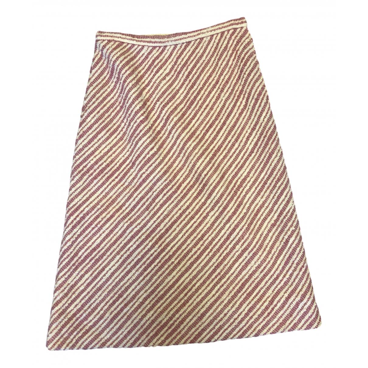 Falda midi Tweed Chanel