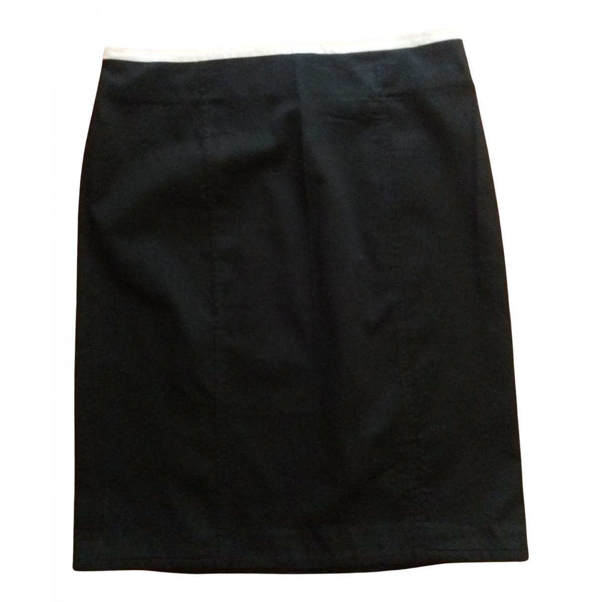 Marella - Jupe   pour femme en coton - elasthane - noir
