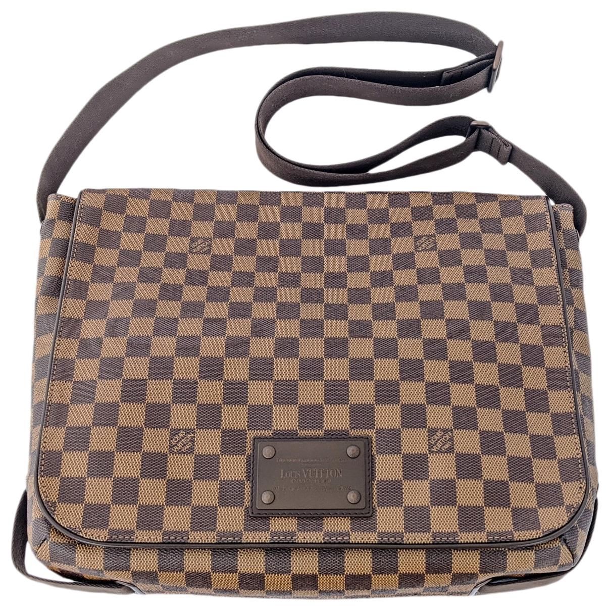Louis Vuitton Brooklyn Brown Cloth bag for Men \N