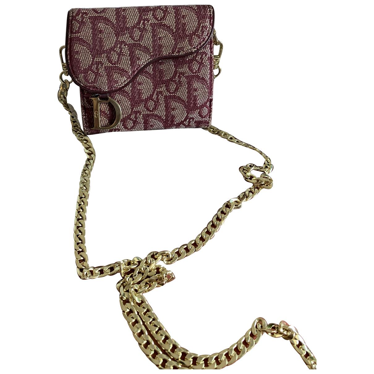 Cartera Saddle de Lona Dior