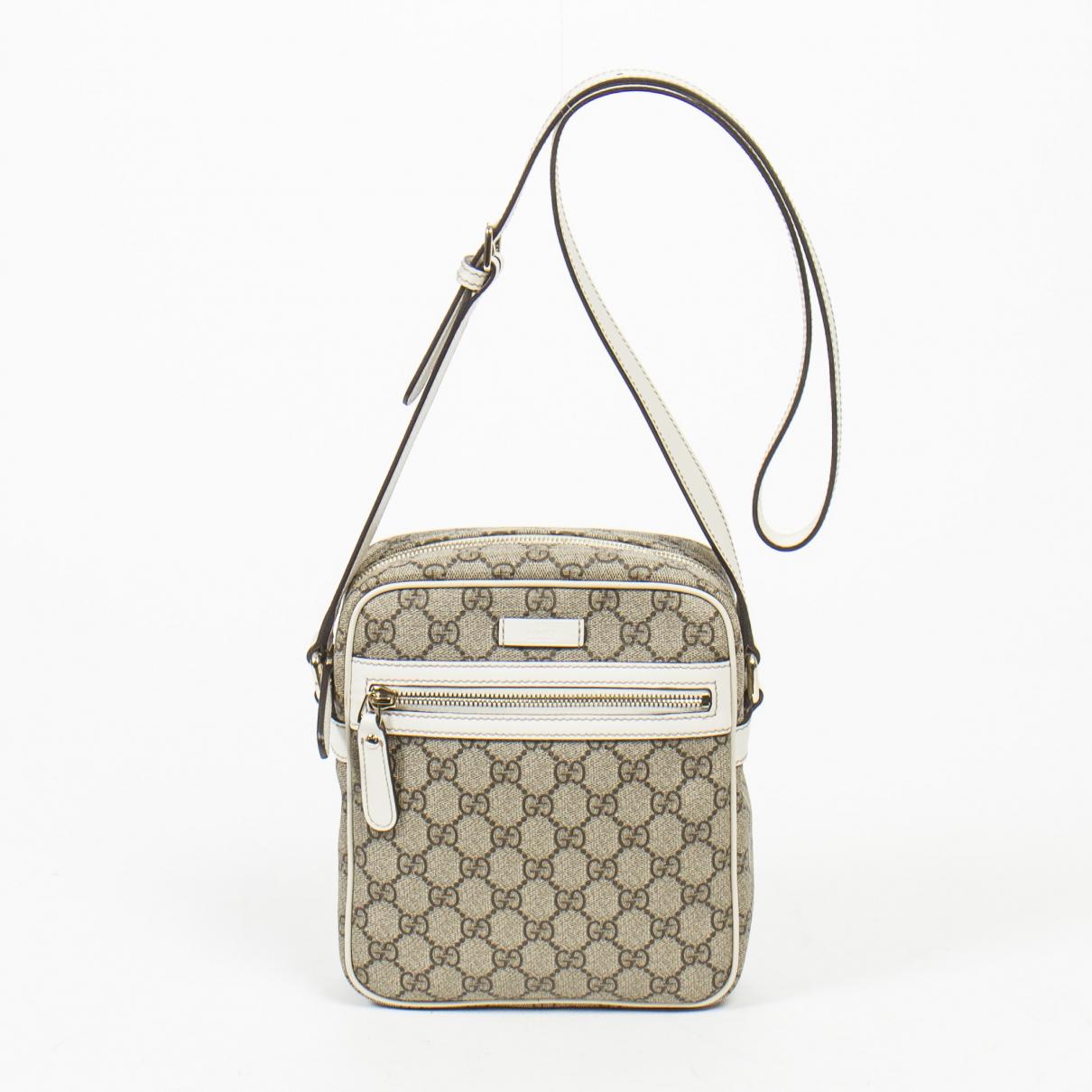Gucci \N Beige Cotton handbag for Women \N