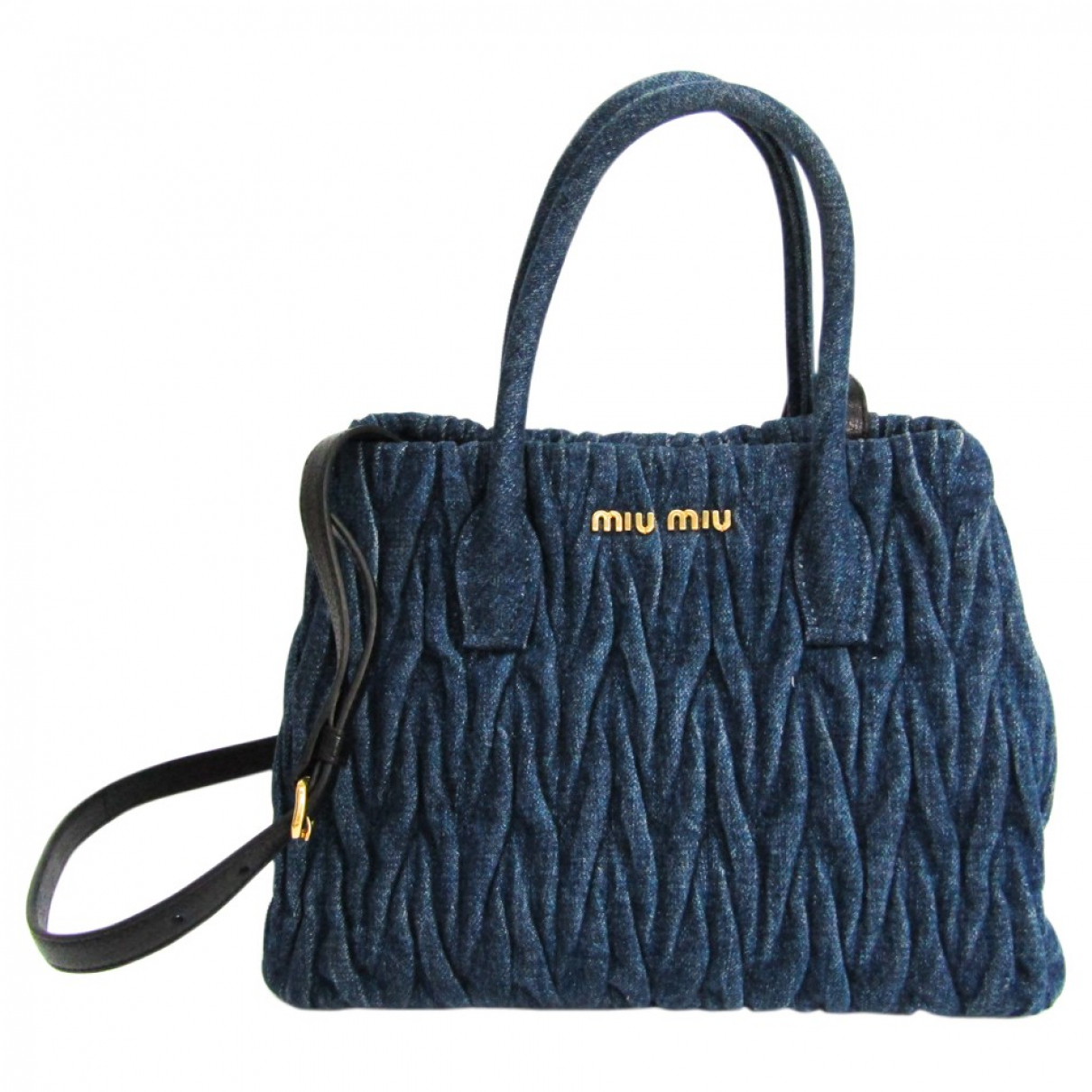 Miu Miu N Black Denim - Jeans handbag for Women N