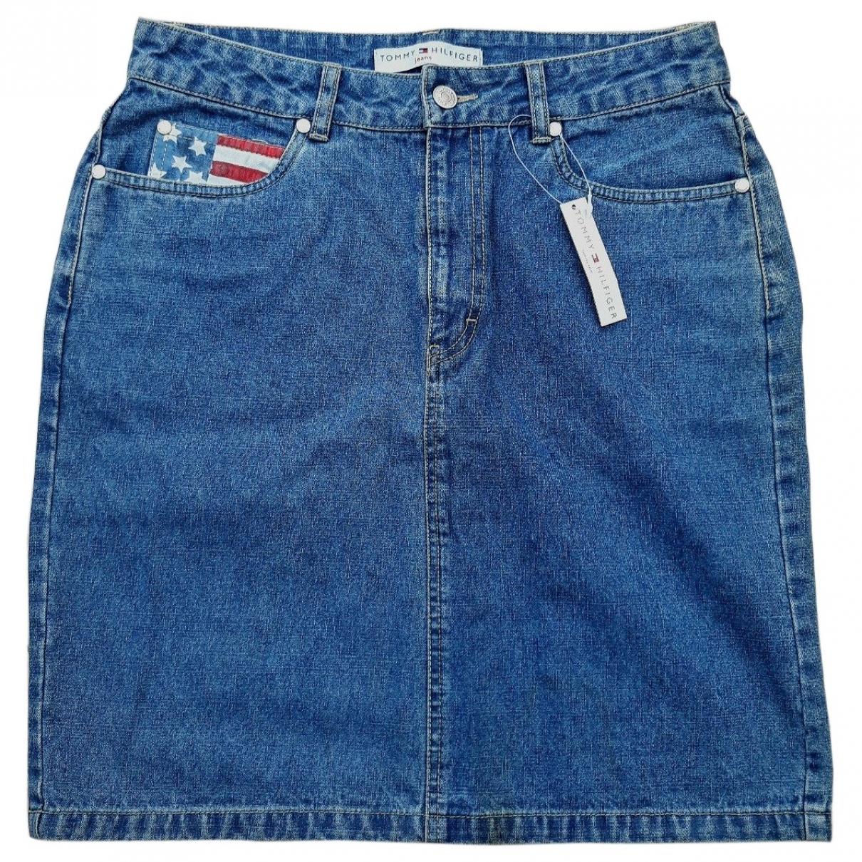 Tommy Hilfiger \N Rocke in  Blau Denim - Jeans