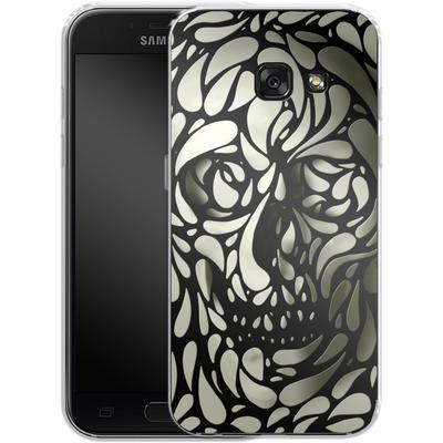 Samsung Galaxy A3 (2017) Silikon Handyhuelle - Skull von Ali Gulec